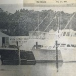 Charter Boats In Rudee Inlet In July Of 1979