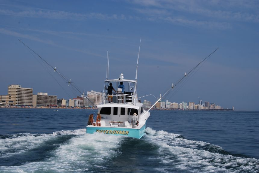 Wave runner virginia beach fishing center ltd marina for Virginia beach fishing charters