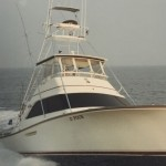 The O'Four Charter Boat from the 80's