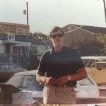 Capt Jeff Brooks in the early 80's