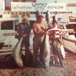 Steve Richardson, Fred Feller, & John Aragona with some nice Bluefin Tunas in the mid 70's