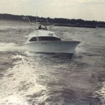 The Willcat in the mid 80's, this boat later became the High Hopes