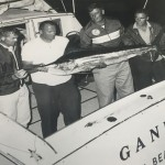 The Gannet with Fred Feller and the Gannet crew in the late 60's