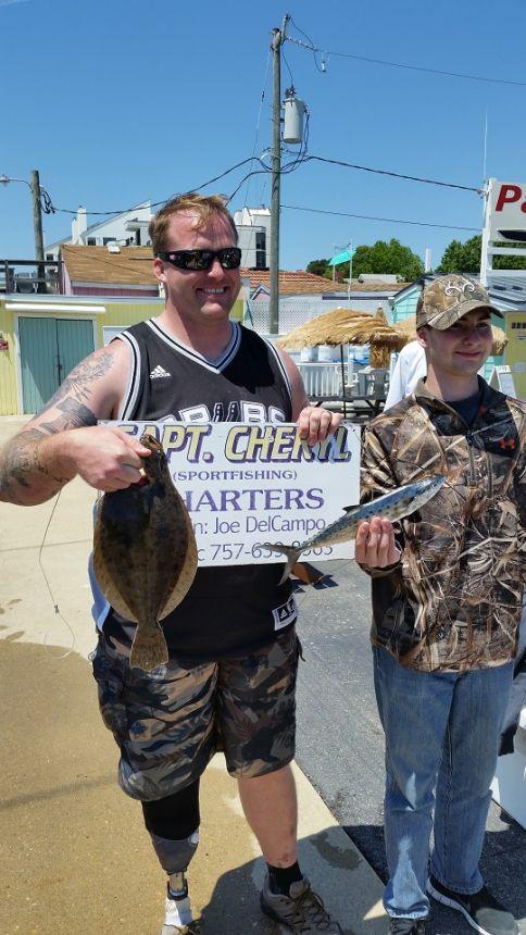 Keeper flounder in rudee inlet virginia beach fishing for Rudee inlet fishing report
