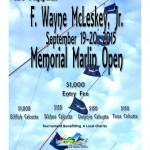 1st Annual F. Wayne McLeskey Jr. Memorial Marlin Open