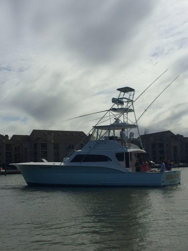 High hopes fishes inside rudee inlet virginia beach for Head boat fishing virginia beach