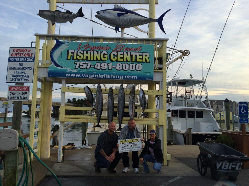 Wahoo 39 s and yellowfin virginia beach fishing center ltd for Va beach fishing center