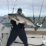 """47"""" Rockfish caught and release on the Top Notch (release citation)"""