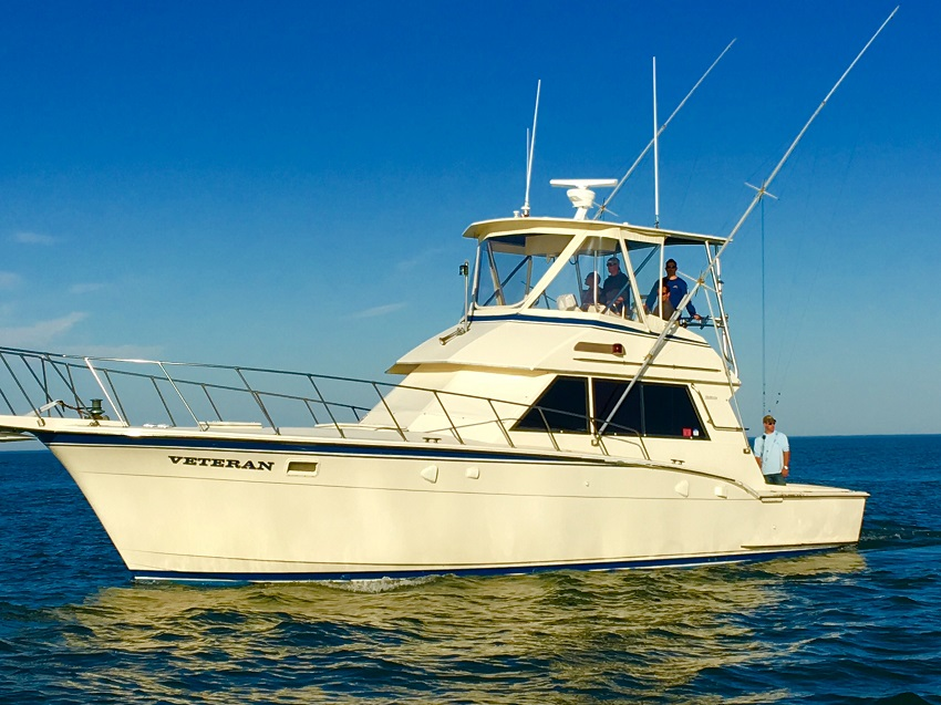 Spotlight boat veteran virginia beach fishing center for Virginia beach fishing charters