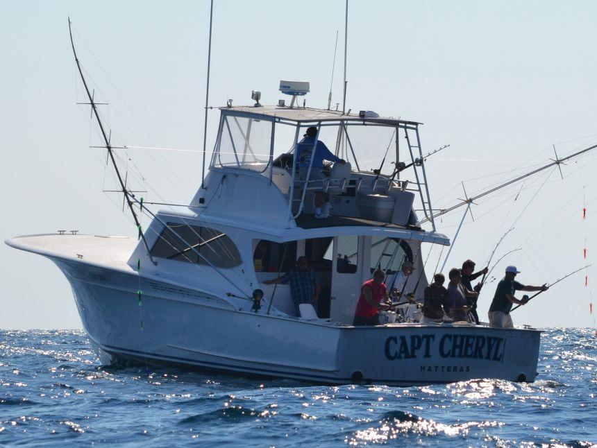 Spotlight boat capt cheryl virginia beach fishing for Head boat fishing virginia beach