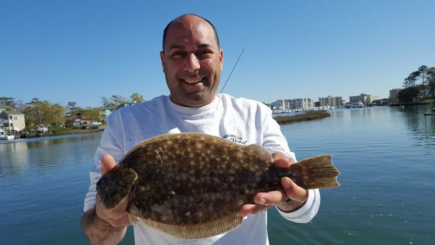 Bluefish bite in rudee inlet virginia beach fishing for Rudee inlet fishing report