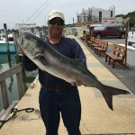 15 Pound Bluefish Caught In Rudee Inlet