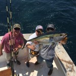 Mate Michael and Romeo with a nice Yellowfin Caught Just South Of Us