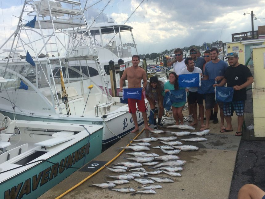 Awesome offshore fishing virginia beach fishing center for Charter fishing virginia beach