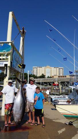 Big eye on the docks virginia beach fishing center ltd for Rudee inlet fishing report
