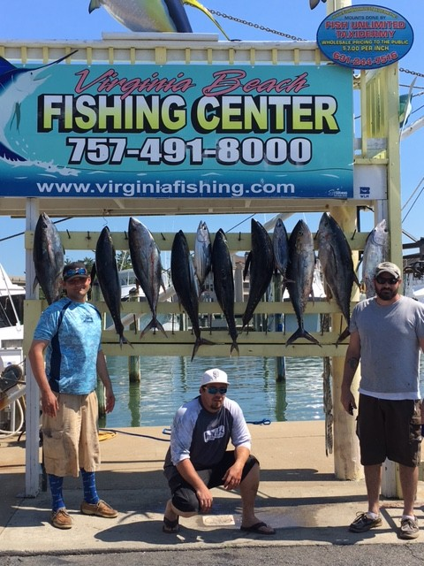 Some high class tuna virginia beach fishing center ltd for Va beach fishing center