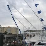 White Marlin Flags Everywhere