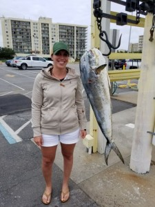 Mahi on the Docks!
