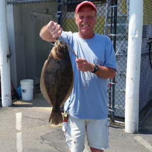 Bluefish Continue In Rudee Inlet, Water Temperatures On The Rise