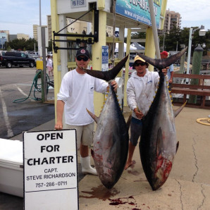 Yellowfin & Big Eye Brightens the Day!