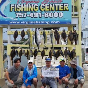 Tuna, Mahi, & Some Really Nice Flounder!