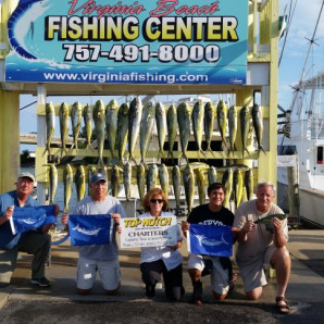 Tons of Mahi and Flags Flying!