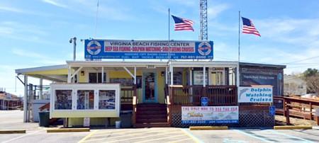VA Beach Fishing Center Storefront