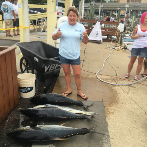 Exciting Inshore Fishing & Day 1 of VB Tuna Tournament
