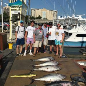 Bluefin Tuna & Mahi