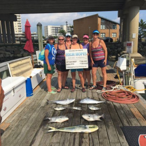 Tuna, Mahi, Spadefish, and Red Drum Releases